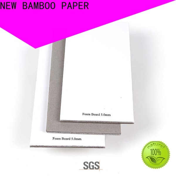 NEW BAMBOO PAPER fine- quality foam core board 4x8 for hardcover books