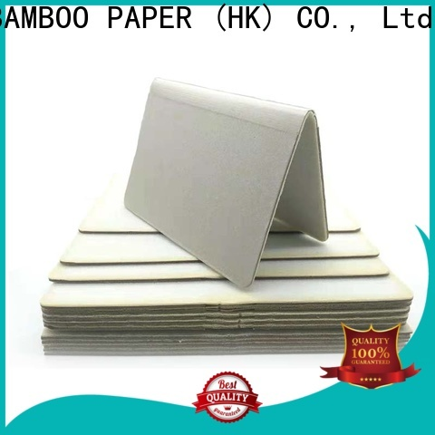 NEW BAMBOO PAPER side foam core board sizes factory price for photo frames