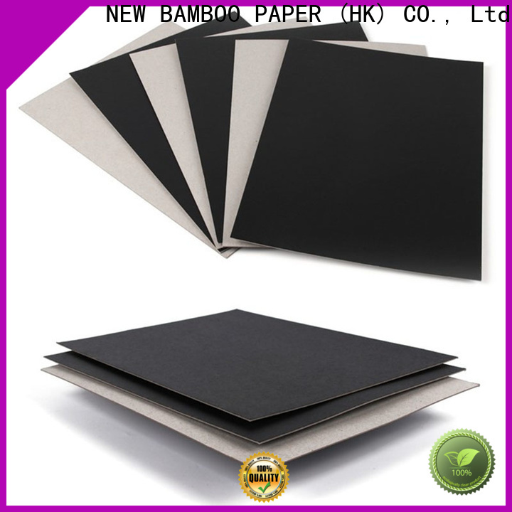 good-package black board paper board certifications for notebook covers