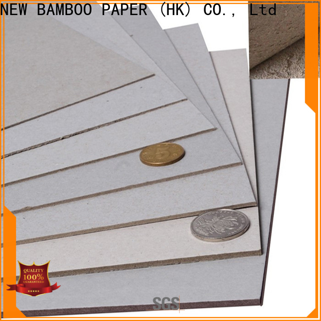 NEW BAMBOO PAPER fine- quality grey board uses bulk production for hardcover books