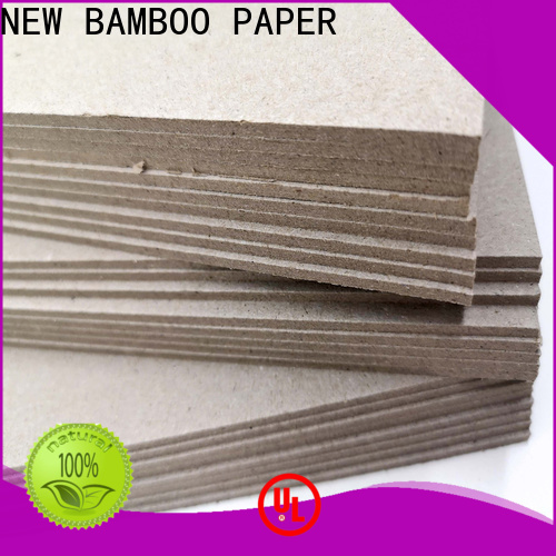 NEW BAMBOO PAPER binding 2mm grey board free design for T-shirt inserts