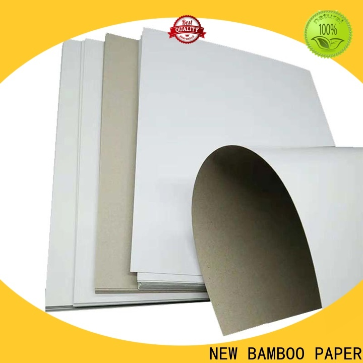 NEW BAMBOO PAPER printing duplex board paper free quote for cereal boxes