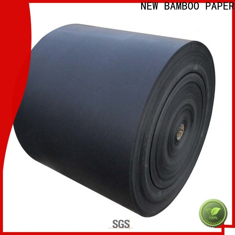 hot-sale black laminated chipboard paper bulk production for gift box