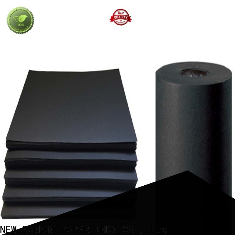 NEW BAMBOO PAPER hot-sale thick black cardboard vendor for photo album