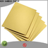 NEW BAMBOO PAPER grade square cake board for wholesale for pastry packaging