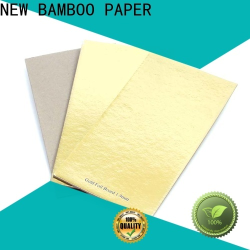 NEW BAMBOO PAPER new-arrival metallic silver poster board for packaging