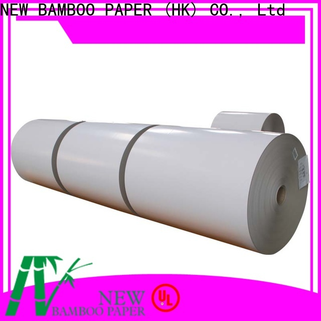 NEW BAMBOO PAPER newly white duplex board from manufacturer for printing industry