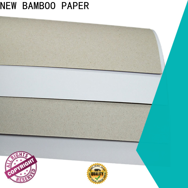 NEW BAMBOO PAPER duplex board paper long-term-use for crafts