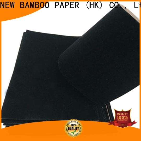 NEW BAMBOO PAPER cardboard velvet flocked paper widely-use for crafts