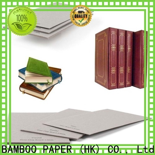 NEW BAMBOO PAPER layer cardboard paper sheets bulk production for shirt accessories