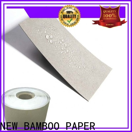 NEW BAMBOO PAPER first-rate poly coated paperboard producer for packaging