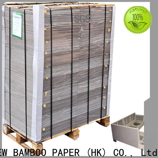 NEW BAMBOO PAPER binding grey paper board bulk production for packaging