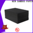 NEW BAMBOO PAPER best black cardboard sheets widely-use for shopping bag