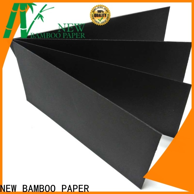 NEW BAMBOO PAPER black  large roll of black paper certifications for paper bags