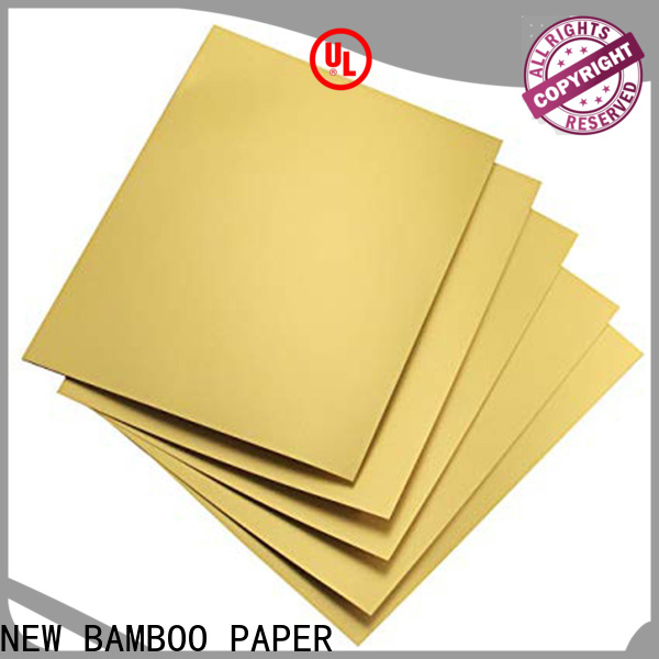 NEW BAMBOO PAPER grade metallic foil paper rolls from manufacturer for gift boxes