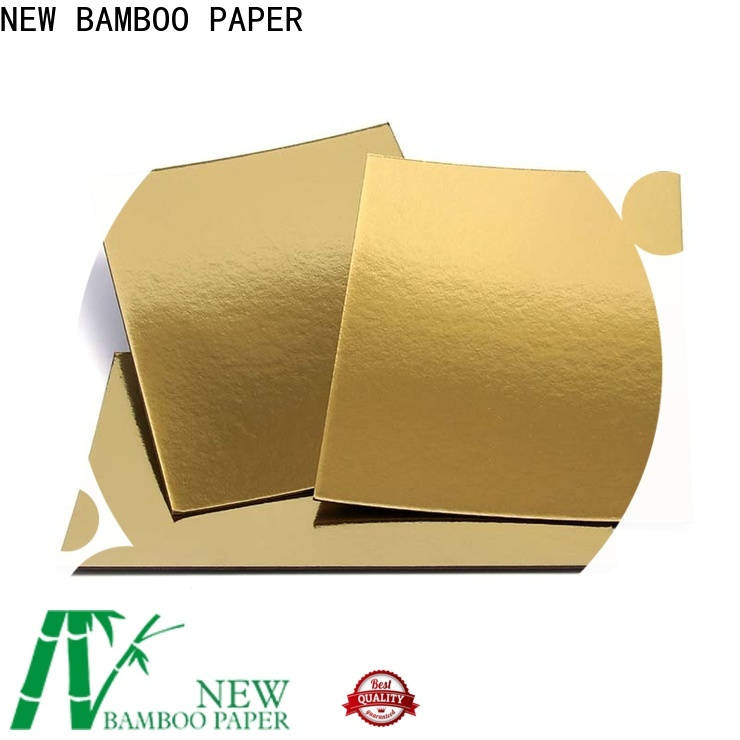 NEW BAMBOO PAPER paper metallic paper sheets long-term-use for cake board