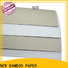NEW BAMBOO PAPER board duplex board gray back order now for soap boxes