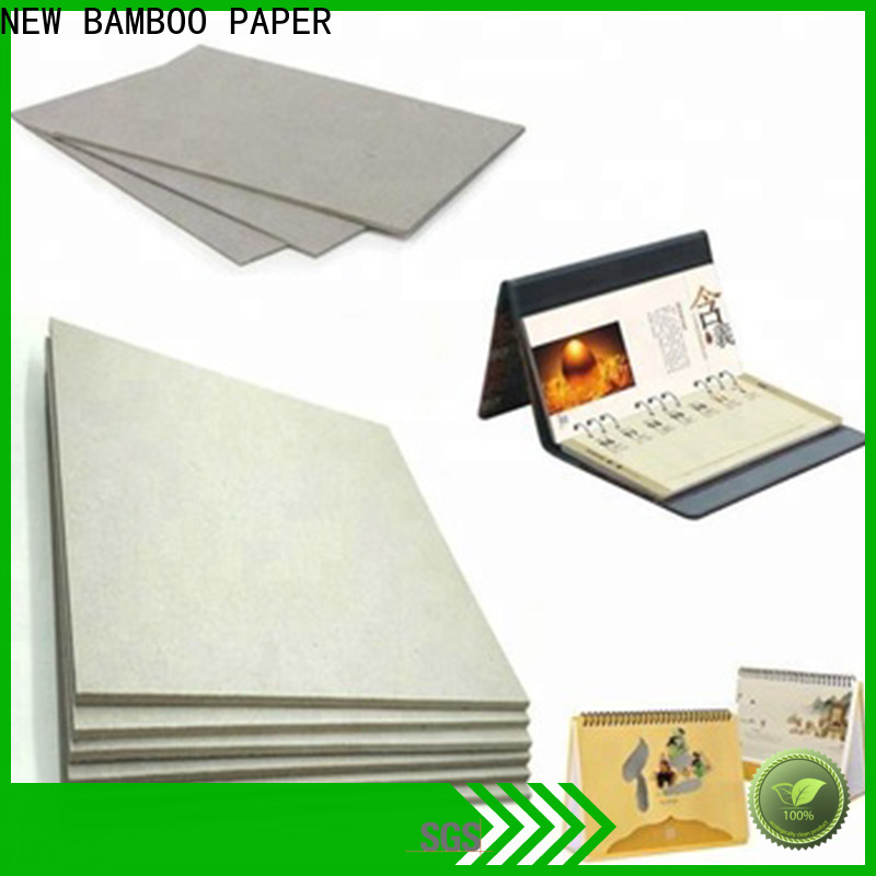 NEW BAMBOO PAPER excellent carton gris 2mm at discount for stationery