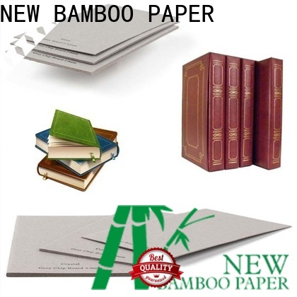 NEW BAMBOO PAPER uncoated gray chipboard for wholesale for photo frames