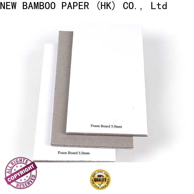 NEW BAMBOO PAPER good-package 5mm foam board free design for photo frames