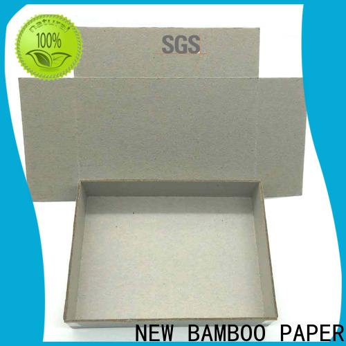 NEW BAMBOO PAPER exercise gray paperboard for wholesale for packaging