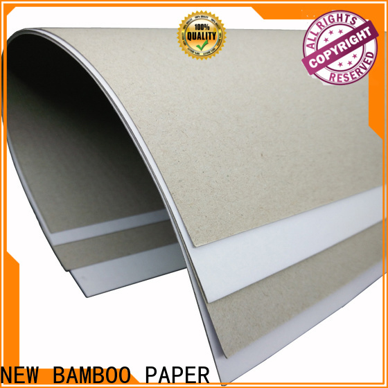 NEW BAMBOO PAPER hot-sale what is duplex board factory price for cereal boxes