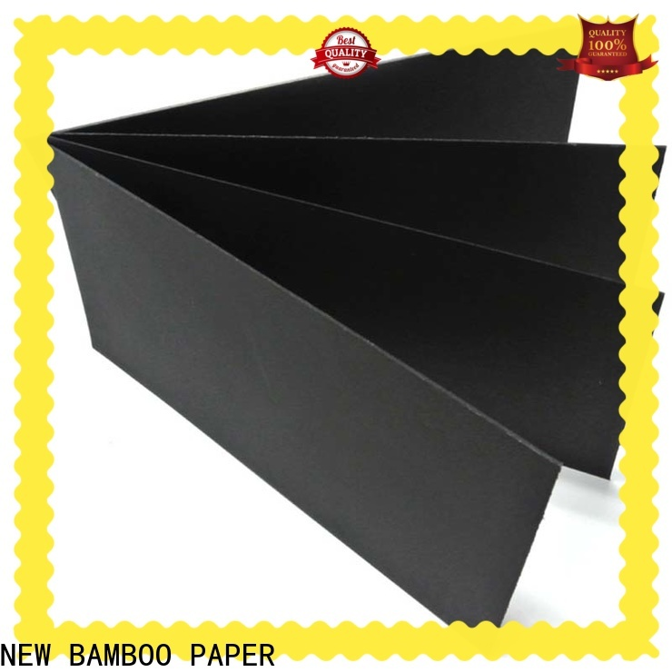 NEW BAMBOO PAPER useful large roll of black paper manufacturer for paper bags