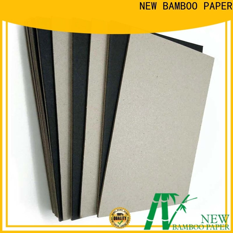 safety black cardboard paper size supplier for booking binding