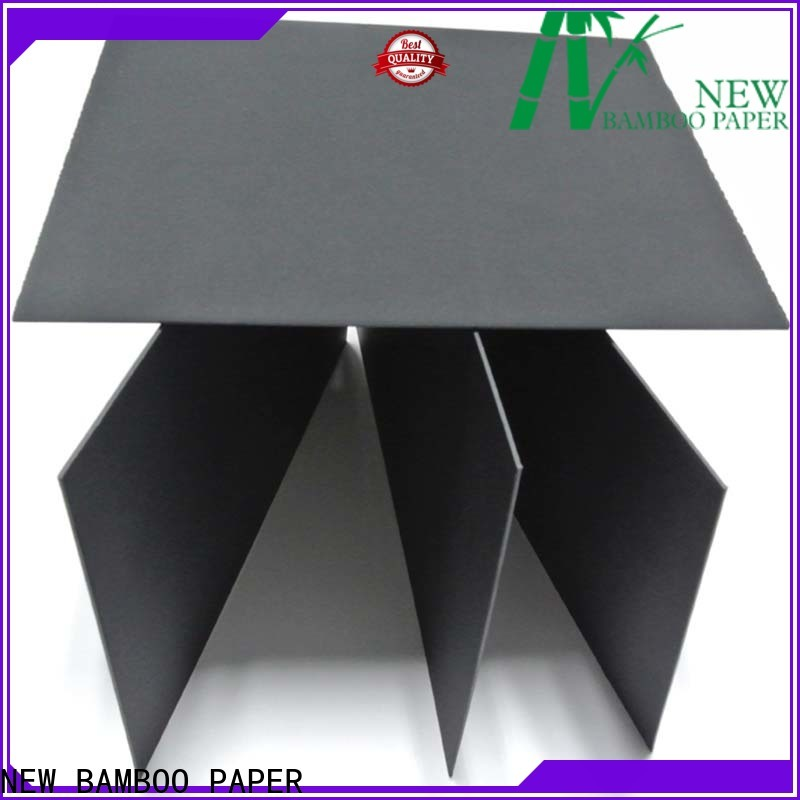 NEW BAMBOO PAPER hot-sale sturdy black board at discount for packaging