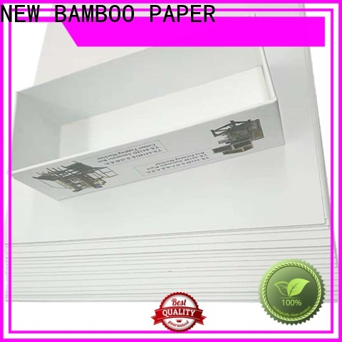 NEW BAMBOO PAPER duplex duplex board gray back factory price for printing industry