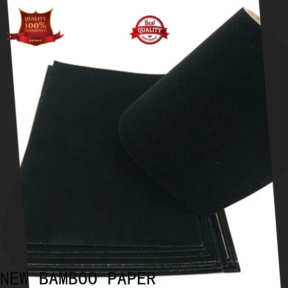 NEW BAMBOO PAPER useful red flocked paper effectively for gift boxes