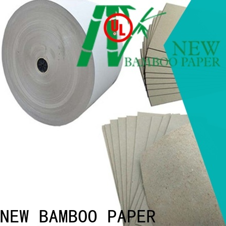 NEW BAMBOO PAPER uncoated cardboard paper factory price for hardcover books