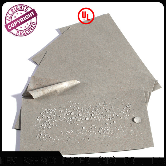 durable poly coated cardboard double  supply for packaging