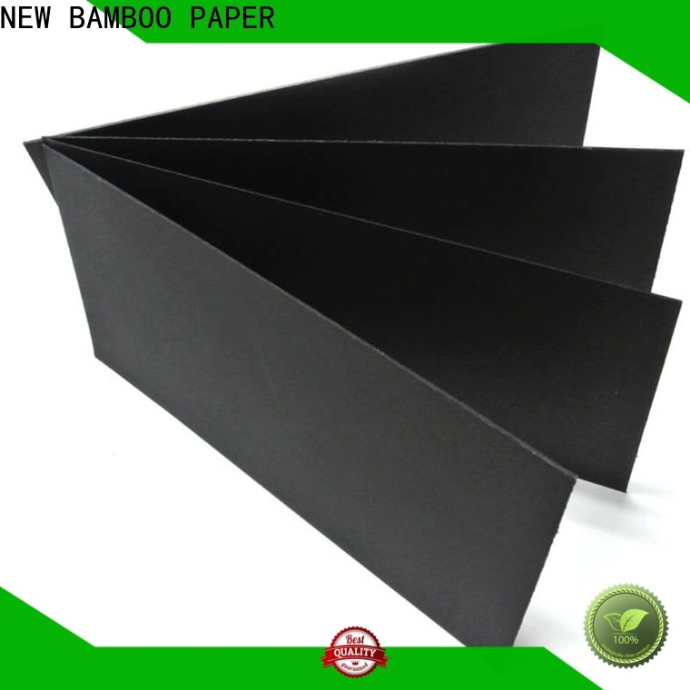 NEW BAMBOO PAPER quality black paper roll producer for paper bags