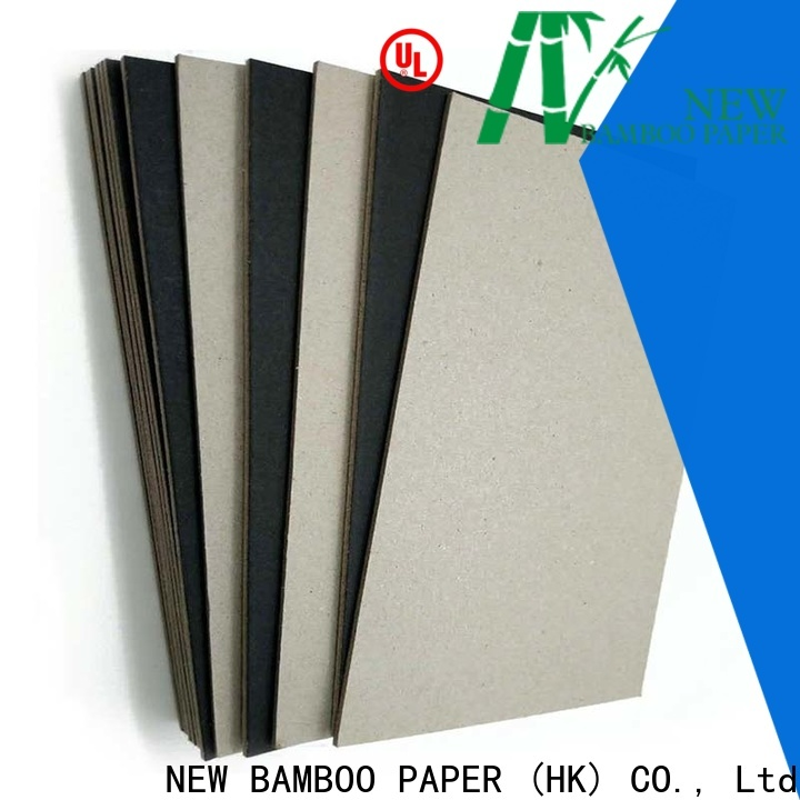 NEW BAMBOO PAPER scientific black laminated chipboard bulk production for photo frame