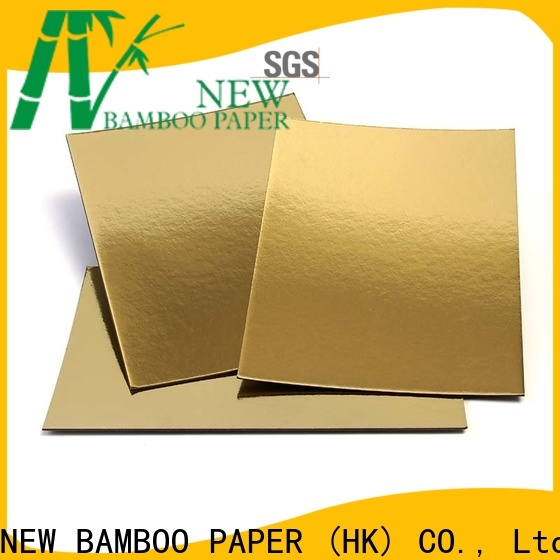 NEW BAMBOO PAPER new-arrival metallic poster board for bread packaging