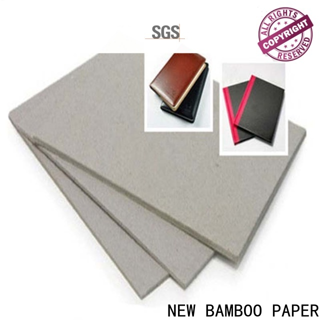 NEW BAMBOO PAPER nice 2mm grey board at discount for shirt accessories