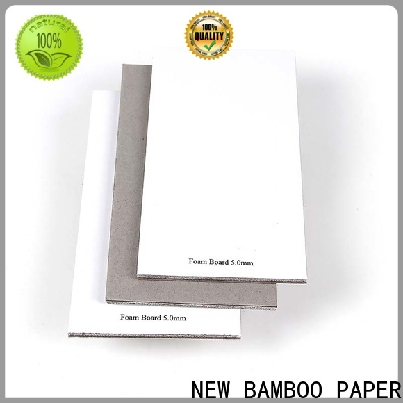 NEW BAMBOO PAPER cover thin foam sheets factory price for desk calendars
