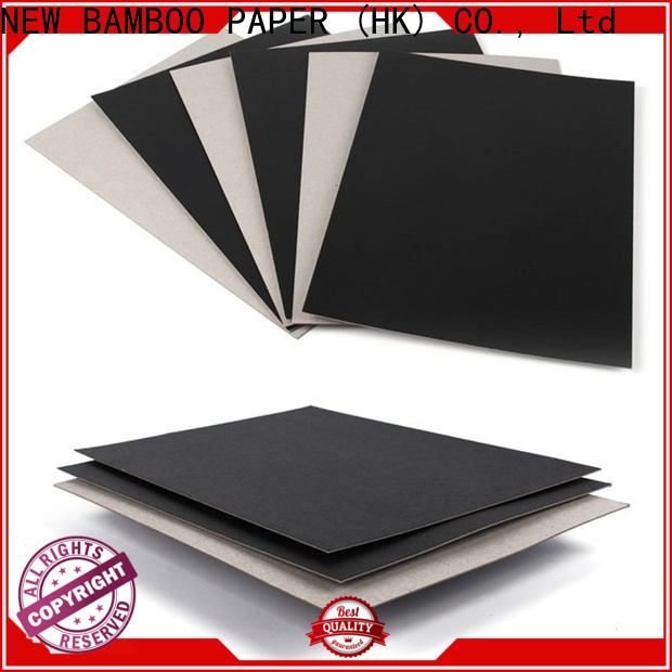 NEW BAMBOO PAPER best where to buy rolls of black paper producer for box materials