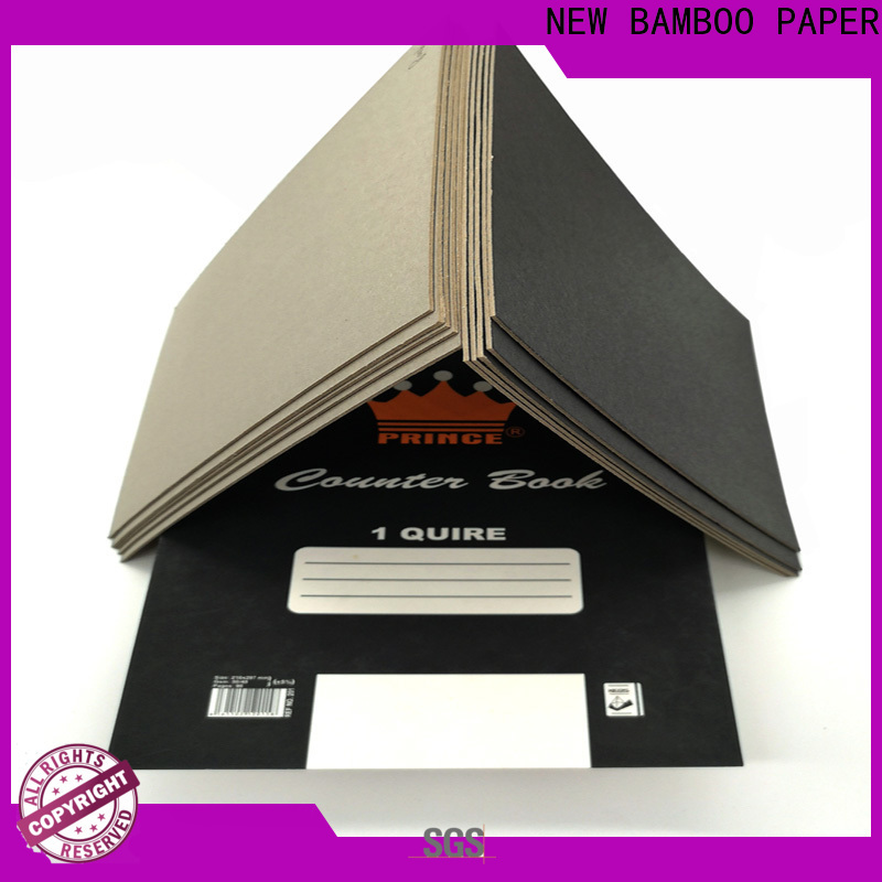 NEW BAMBOO PAPER industry-leading black cardboard sheets widely-use for photo album