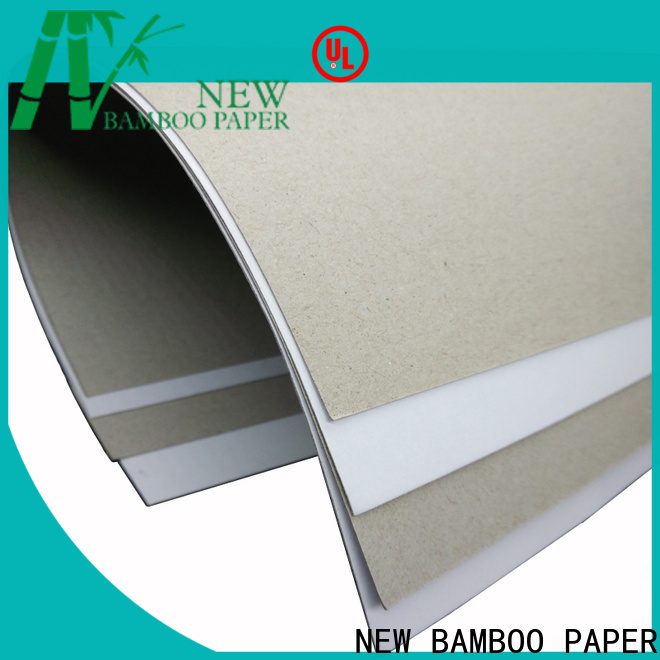 NEW BAMBOO PAPER printing duplex cardboard bulk production for crafts