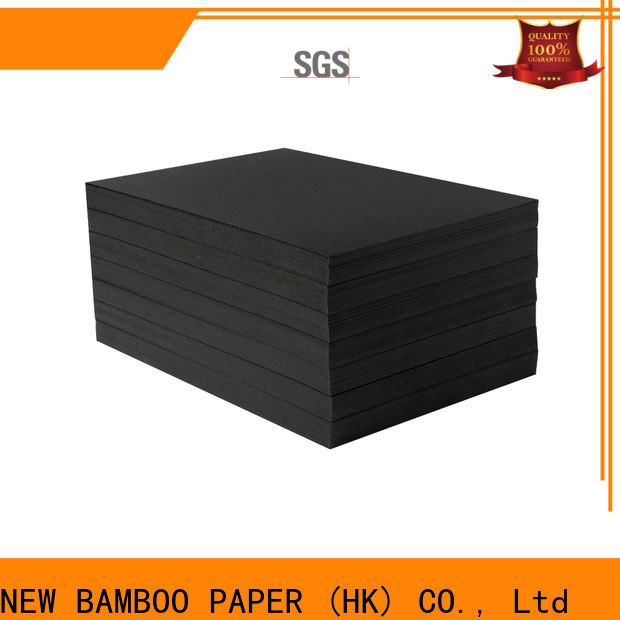 NEW BAMBOO PAPER newly black cardboard paper long-term-use for booking binding