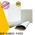 NEW BAMBOO PAPER pulp duplex board paper free design for toothpaste boxes