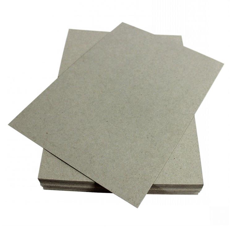 Thick Paper Box Board Sheet 1mm 600gsm grey board