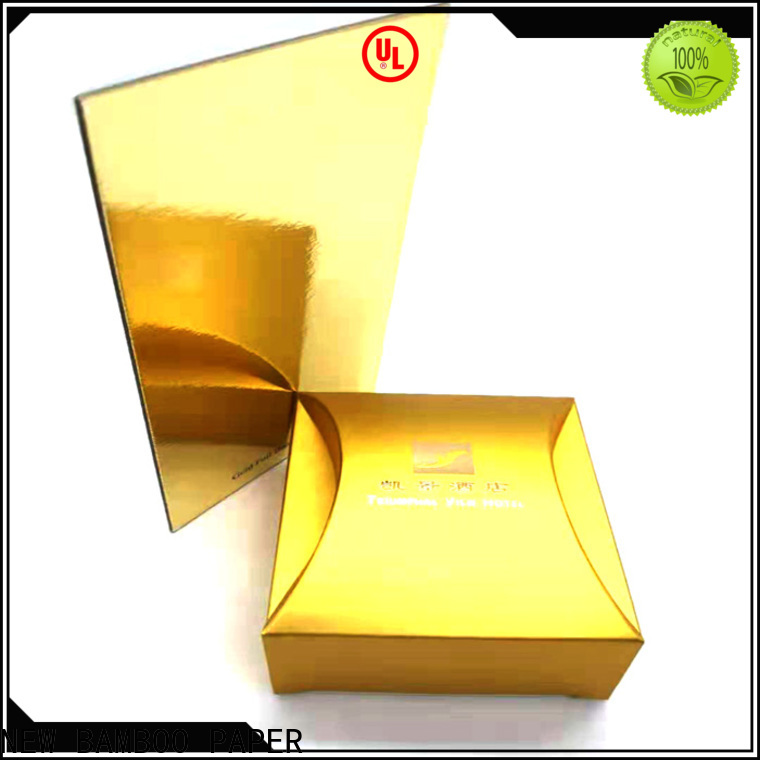 NEW BAMBOO PAPER foil silver cake board bulk production for bread packaging