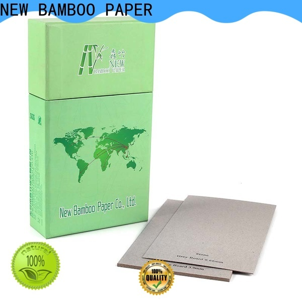 NEW BAMBOO PAPER excellent laminated grey board buy now for arch files