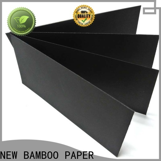 NEW BAMBOO PAPER useful large roll of black paper effectively for paper bags