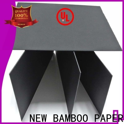 useful large sheets of black paper pulp factory price for gift boxes