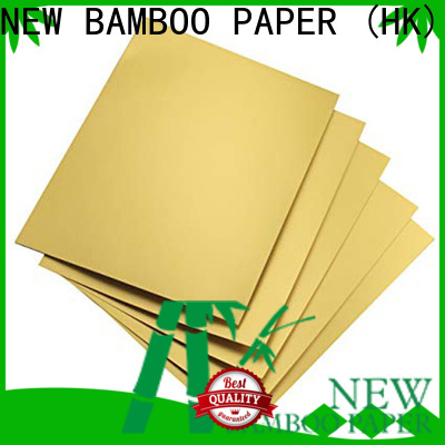 inexpensive metallic board paper grade at discount for paper bags