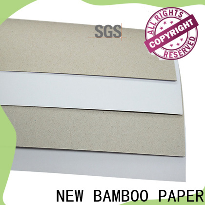 NEW BAMBOO PAPER industry-leading duplex board paper from manufacturer for shoe boxes